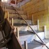 Coulage de l\'escalier béton