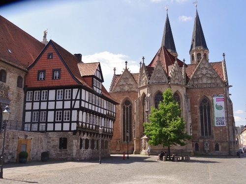 Flânerie dans Brunsxick en Allemagne (photos)