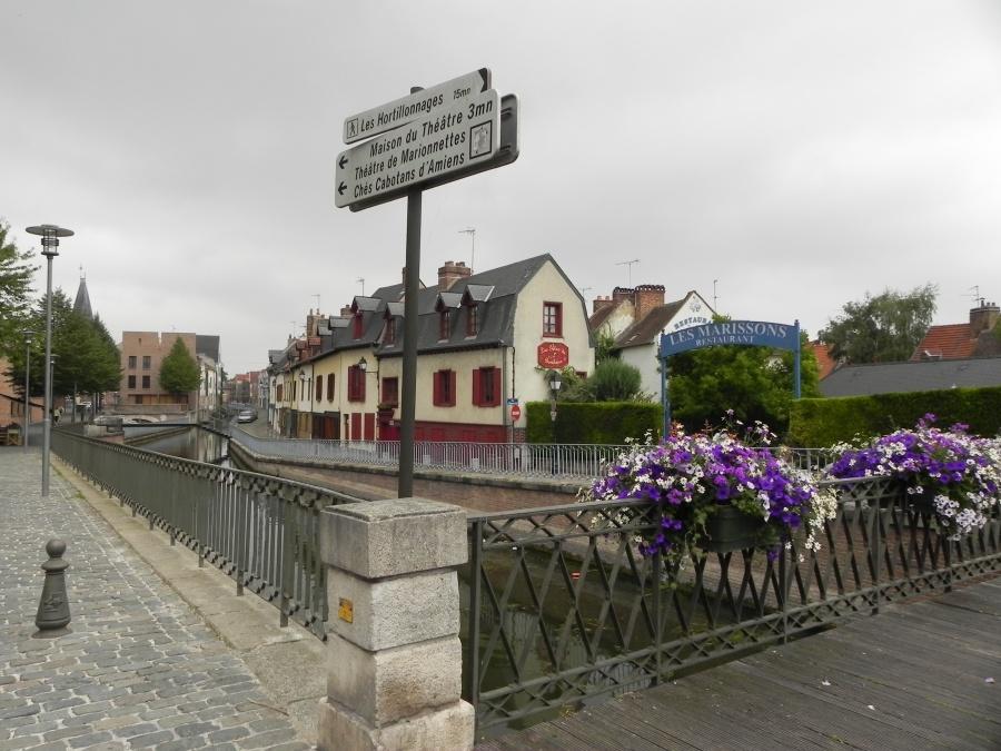 les Hortillonages d'Amiens dans la Somme