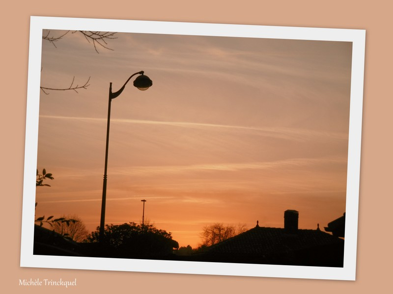 Le ciel au matin du 8 février...