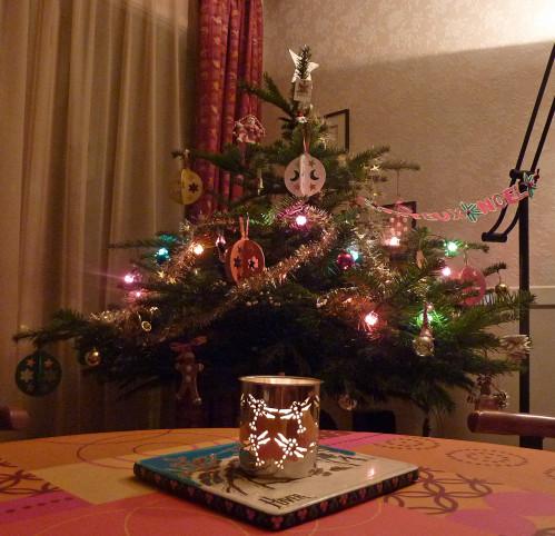 Sapin de Noël 2009 éclairé