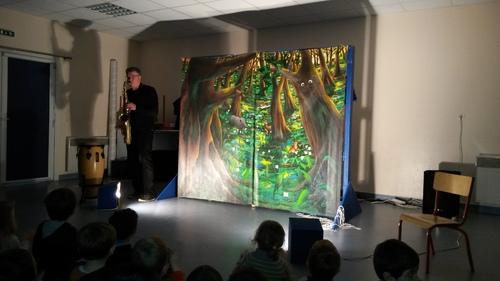 JANVIER 2017 - Julo et la forêt