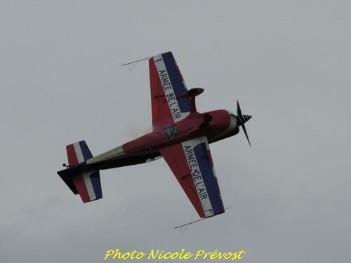 Nicole Prévost s'est rendue au meeting d'aviation de Juvancourt dans l'Aube...