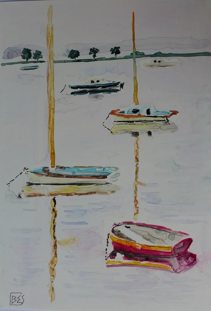 Pinasses et bateaux sur papier lanavanguard...