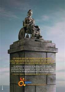 Association des paralysés de France - APF interpelle les candidats à la présidentielle