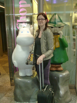 Devanture du Moomins Shop...