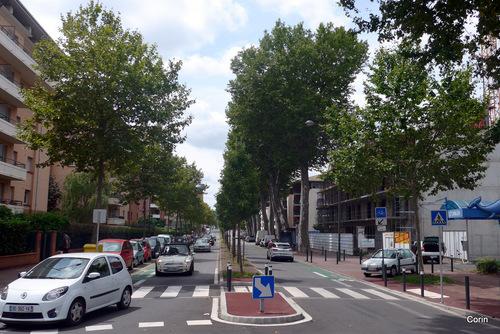 Toulouse : une avenue ...