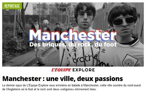 Manchester : foot et musique