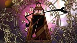 horologium l'esprit de l'horloge clef d'argent