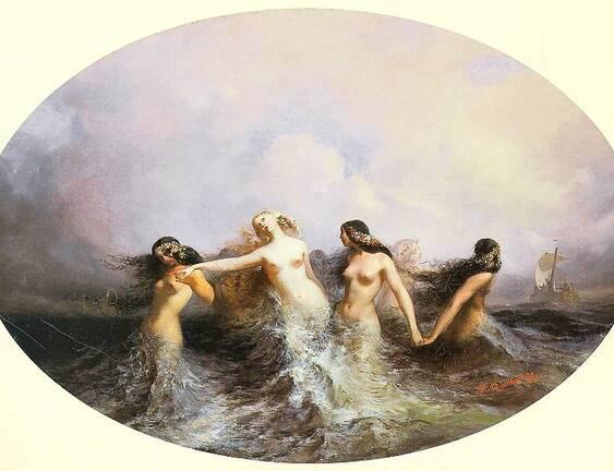 La sirène enjôleuse et sensuelle