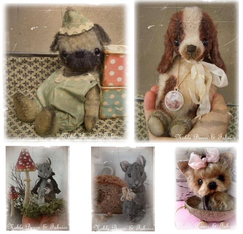 Noble Bears & Fabrics