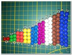 Les perles Montessori