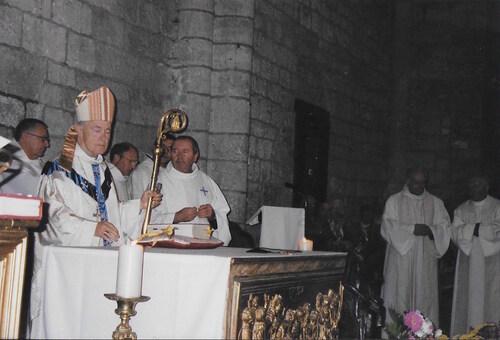 Mgr Maurice Gaidon à Rocamadour