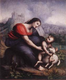 madonne et enfant