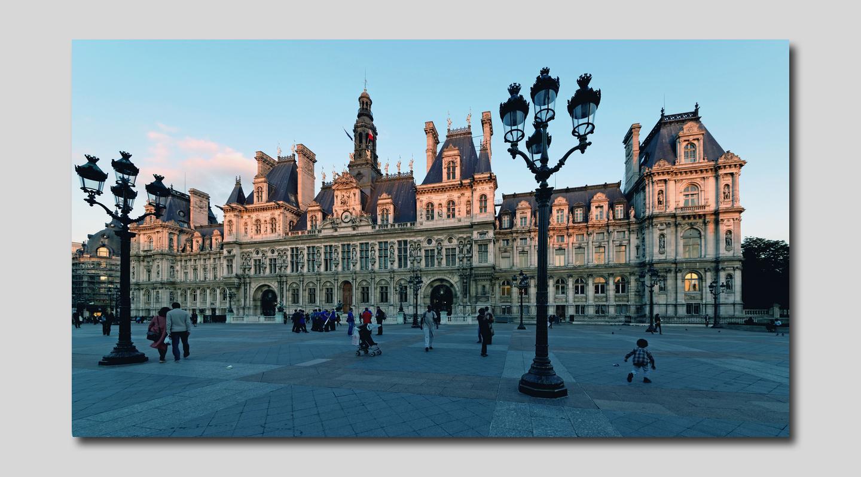 Paris Place de l'hôtel de ville