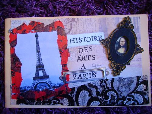 Carnet d'Histoire des arts à Paris