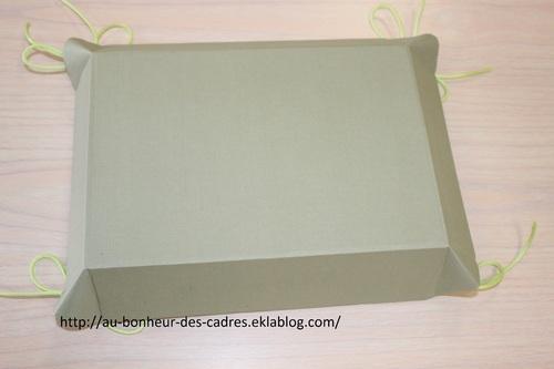 Cartonnage : petite corbeille ou plateau