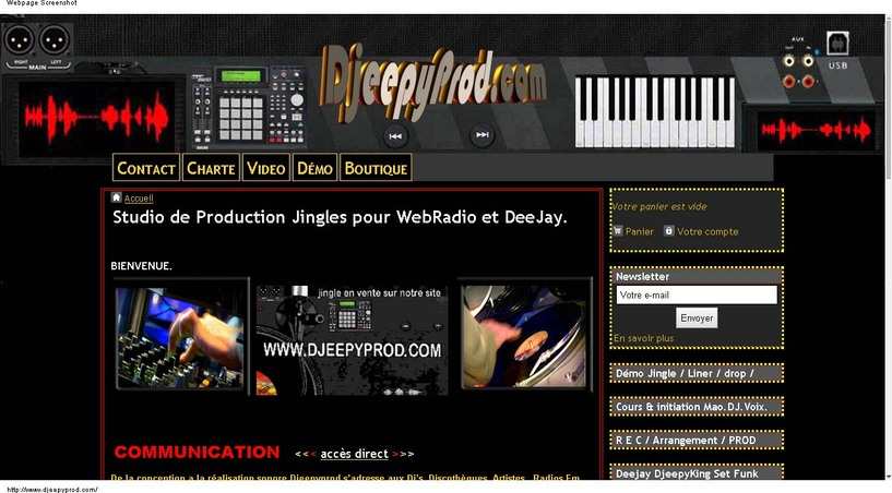 Jingle VOIX OFF Djeepyprod.com