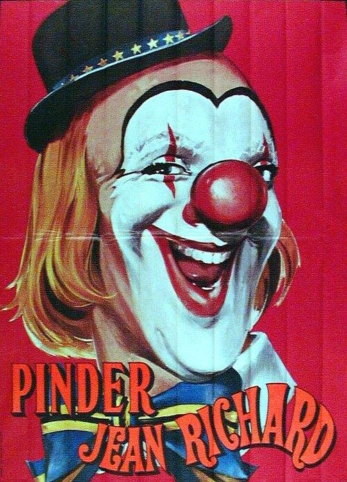 """recyclage d'affiches pour les cirques du groupe """"Chapiteaux Spectacles Jean Richard"""" (collection Pierre Veyssilier)"""