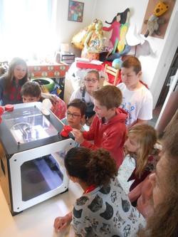 Découverte : l'imprimante 3D