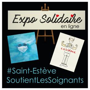 Expo solidaire organisée par la mairie
