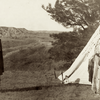 A Sioux wedding. 1912. Photo by Julia Tuell. Possibly taken on or near Rosebud Reservation, South Da