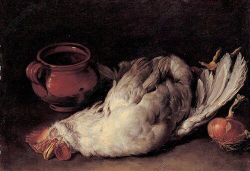 Le coq aux plombs