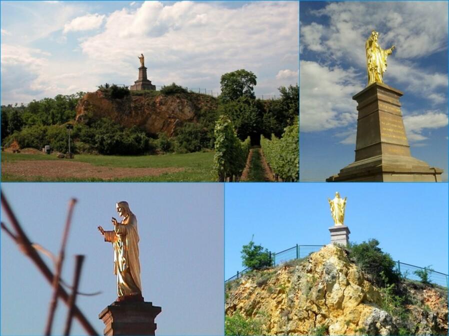 La Colline Horn avec la statue du Sacré-Cœur