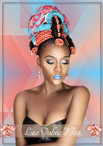 AF0027 - Tube femme africaine