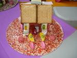 Les maisons en bonbons !
