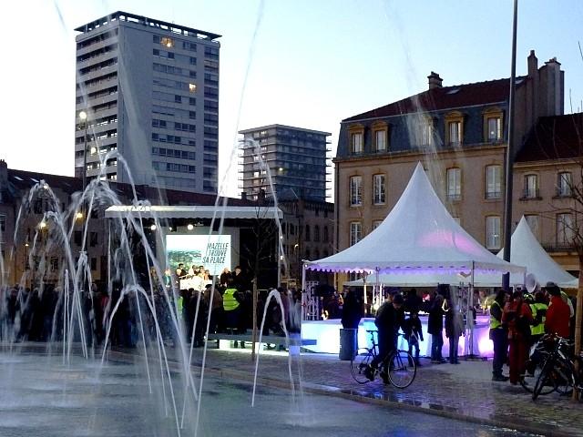 Inauguration de la place Mazelle de Metz 29 Marc de Metz 0