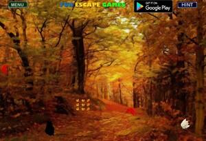 Jouer à Thanksgiving forest fun escape