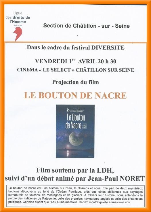 Deux manifestations proposées par la Ligue des Droits de l'Homme Châtillonnaises...
