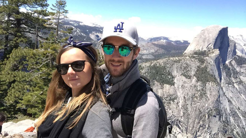 bonne fête des pères  - Audrey aux US - Yosemite -