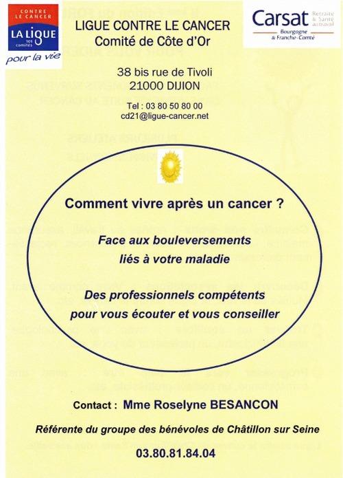 Forum de la Ligue contre le Cancer