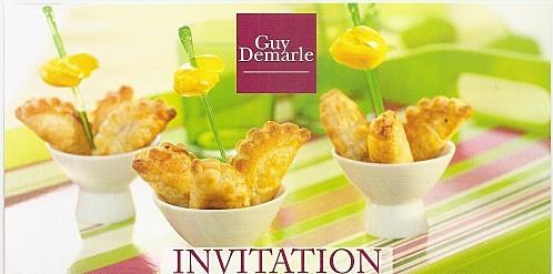 Invitation Atelier