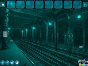 Jouer à Abandoned subway escape