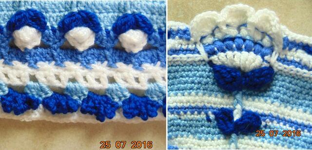 "Un ""Mandala"" au crochet 7 & 8"