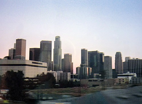 Los Angeles Downtown soir