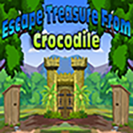 Solution Escape Treasure From Crocodile