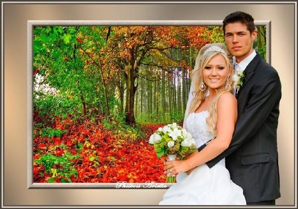 Un joli mariage...