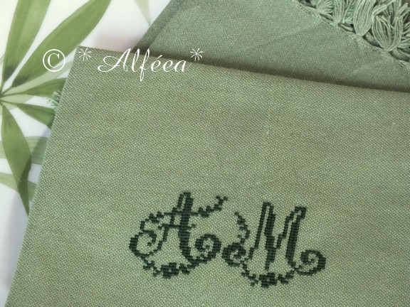Vertes... serviettes