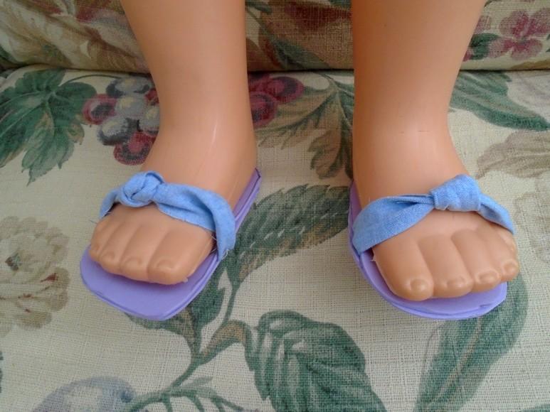 Sandales pour Cathy