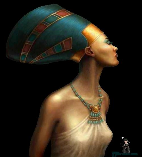Tube : Buste de Néfertitit