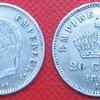 20 cts 1867 napoléon III