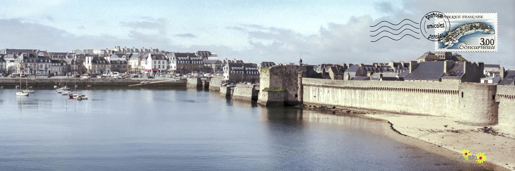 Concarneau, avril 1994