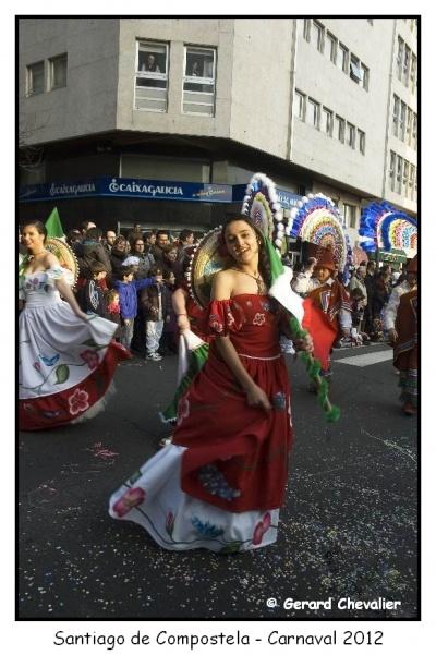 Santiago de Compostela - Carnaval 2012