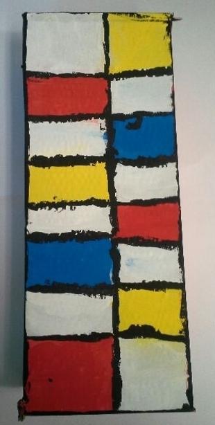 CM / A la manière de Mondrian