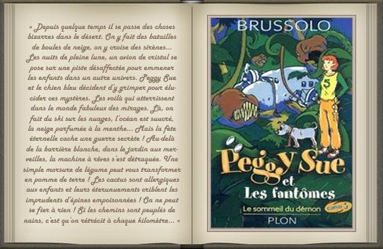 « Peggy Sue et les fantômes : tome 2 » de Serge Brussolo
