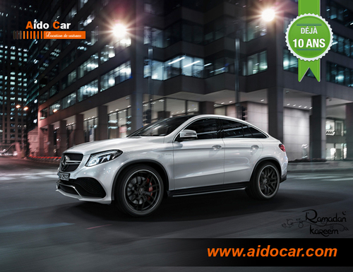Location Mercedes-Benz GLE coupé à Casablanca